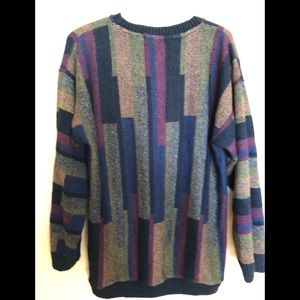 protege Sweaters - Vintage multi color protege collection XL sweater